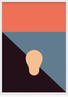 The Scream: Minimalist Print