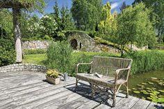 Ogród z pomysłowymi zakątkami #ogrod #rośliny #zieleń