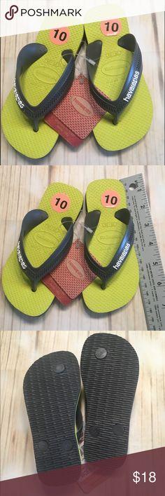 bcddd4ce8d8d Toddler Havaianas NWT Flip Flop Sandals US Size 10 Toddler Kid Havaianas Flip  Flops