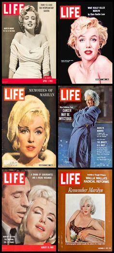 Life (American) magazine covers of Marilyn Monro