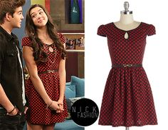 WHO: Kira Kosarin as Phoebe ThundermanWHAT: ModCloth Cute Classmate Dress in Red ($52.99)WHERE: The Thunderman's 1x15 - Have an Ice Day Tune into Nickelodeon on March 22nd at 9 PM ET/PT to watch this episode of The Thundermans Teenager Outfits, Girl Outfits, Cute Outfits, Phoebe Thunderman, The Thundermans, Kira Kosarin, Cute Simple Hairstyles, Nerd Fashion, Disney Inspired Outfits