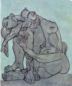 drawpaintprint:    Pablo Picasso: Untitled (1936)
