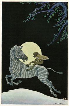 Illustrations by Dorothy P. Lathrop for Walter de la Mare's Three Mulla-Mulgars (1919)