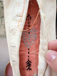stitching by Mrs Bertimus
