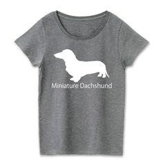 ミニチュアダックスシンプルマークTシャツ★ | デザインTシャツ通販 T-SHIRTS TRINITY(Tシャツトリニティ) #ミニチュアダックスフンド fooldesignのオリジナルダックスフントTシャツ★面白いシルエットのTシャツ等はありますが、こちらは何も飾らないシンプルなダックスのTシャツです。濃色専用なのでシルエットがより一層目立つデザインでボトムとも合わせやすいのでシンプルがいい!と言う方におすすめです。