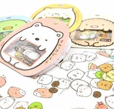 """Make your diary or planner cuter than ever with these super """"kawaii"""" Japanese Sumikko Gurashi stickers.   Shop now at kawaiipenshop.com   Free international shipping."""
