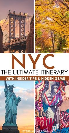 Planning to visit New York? This 5 day NYC itinerary is full of the best things to do in New York City, with NYC hidden gems & local NYC insider tips.