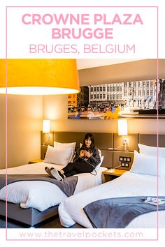 Staying in the Heart of Bruges at Crowne Plaza Brugge - Travel Pockets Hotels And Resorts, Best Hotels, Colourful Lounge, Church Of Our Lady, Barcelona Travel, Okinawa Japan, Chicago Restaurants, Most Beautiful Cities, Bruges