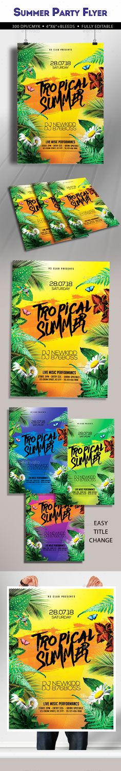 Tropical Summer Party