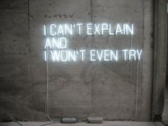 Oh, how often I can't explain!