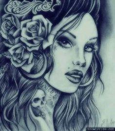 girl beautyful work