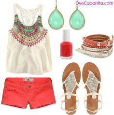 Ropa de verano. Para mas visite a OyeCubanita.com
