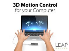 Leap Motion Controller: 3D Motion Control For Your Computer + $20 FREE App Store Credit | DesignTAXI Deals