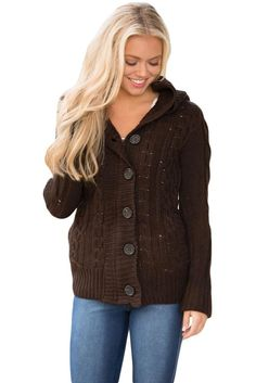 Try latest Chicloth Brown Lo.... http://chicloth.com/products/chicloth-brown-long-sleeve-button-up-hooded-cardigans?utm_campaign=social_autopilot&utm_source=pin&utm_medium=pin