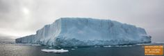 Huge Iceberg Panorama in NE Greenland