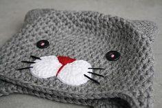 lilleliis - world full of amigurumi and cuteness : Heegeldatud kiisumüts lastele