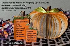What was the most surprising or helpful thing you learned about dyslexia in October (Dyslexia Awareness Month)?