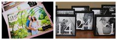 Aprovecha la #sesión de #fotos #preboda para hacer bonitos #meseros con #foto!! #wedding #banquete #decoracion