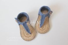 Buy Now Crochet baby sandals gladiator sandalsunisex booties...
