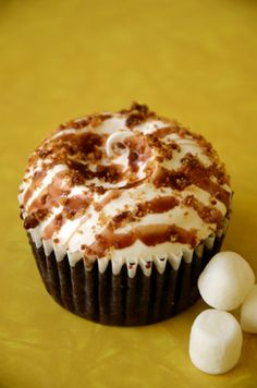 S'mores Cupcake @ Billy's Bakery