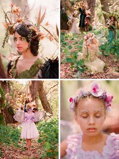 Real Wedding Inspiration: A Fairy Wedding Forest Wedding, Woodland Wedding, Whimsical Wedding, Wedding Kiss, Dream Wedding, Wedding Shoot, Wedding Dresses, Fairy Birthday Party, Woodland Fairy