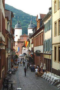 Vetter Brewery in Heidelburg, Germany