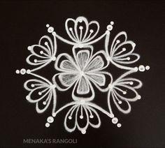 Simple Deepavali Muggu For Beginners Simple Rangoli Designs Images, Rangoli Designs Latest, Rangoli Designs Flower, Rangoli Border Designs, Rangoli Patterns, Rangoli Ideas, Rangoli Designs Diwali, Rangoli Designs With Dots, Beautiful Rangoli Designs