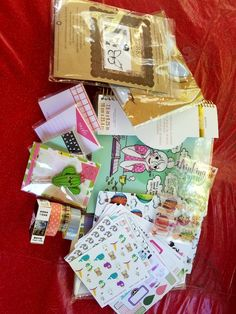 I want a Recollections spiral planner in a giveaway from planner love SP on Etsy. Here are all of my goodies. What a bounty! #PlannerClips  #PlanningTips #PlannerStickers #PlannerBabe #PlannerAddict #BlissfulLife
