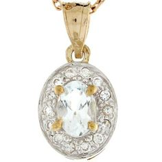 14k Two Tone Real Gold 1.75cm White CZ Classy Designer Charm Pendant Jewelry Liquidation. $118.21. Made in USA!. Made with Real 14k Gold!