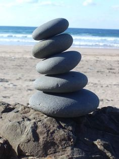 I love finding stacked rocks.  It tells a story that someone else has been there and appreciated their time spent.
