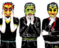 Amanda Lanzone art illustration masks