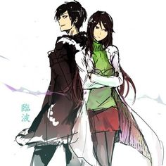 Durarara!! / Izaya and Namie--two of the most interesting characters in all of anime (I also ship them. Like, A LOT.)
