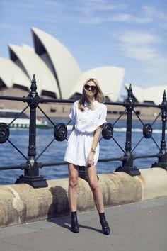 From tuulavintage.com *new summer trend alert* white dresses