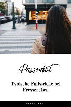 Typische Fallstricke bei Pressereisen, die du vermeiden solltest #pressereise #pr #pressearbeit Influencer Marketing, Public Relations, Hospitality, Hotels, Sweet, Helpful Tips, Blogging, Tips And Tricks, Things To Do