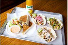 Pork Quesadilla (or burrito) and some crack sauce should do the trick.