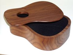electric guitar pick tray cedar wood natural by woodhounds on etsy cool guitar stuff. Black Bedroom Furniture Sets. Home Design Ideas