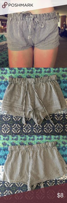 striped shorts! these are lookin for a new home! perfect for hot day! im 5'7 and these fit me perfect Shorts