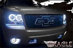 2007-to-2014-chevy-oracle-halo-headlights fits tahoe, avalanche, and suburban. There is no greater head turner than these stunning halo head lights. Complete assembly, plug and play!