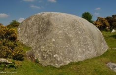 Jubilee Rock, on the Pendrift Downs, Blisland, Cornwall