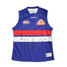 Western Bulldogs 2012 Signed Guernsey - Home $499.95