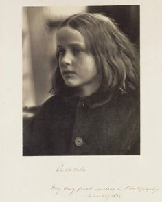 Annie. Cameron considered this her first successful print, made only 1 month after she started taking photographs.