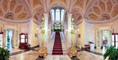 BELLAGIO - RECEPTION - Grand Hotel Villa Serbelloni - 5 star hotels lake como, Luxury Italian Hotels