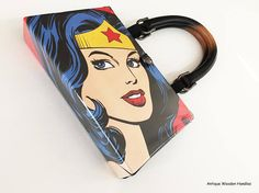 Wonder Woman Book Purse  Super Mom Clutch  Katy Perry