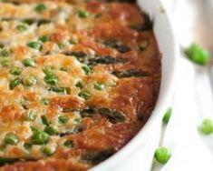 Clafoutis aux asperges et aux petits pois : http://www.fourchette-et-bikini.fr/recettes/recettes-minceur/clafoutis-aux-asperges-et-aux-petits-pois.html