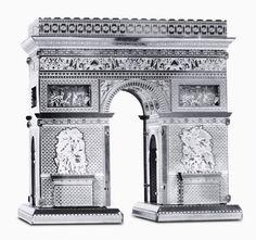 Arc de Triomphe: Metal Earth 3D Miniature Laser Cut Model Kit 2 sheets in Toys & Games, Model Kits, Other Model Kits | eBay