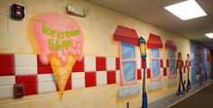 Ice Cream Shop in a Town Children's Ministry Theme