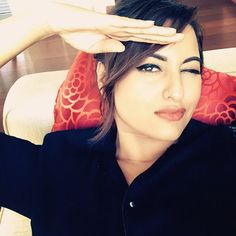 Sonakshi Sinha at Masala! Awards 2015 held in Dubai. #Bollywood #Fashion #Style #Beauty #Instagram #Selfie