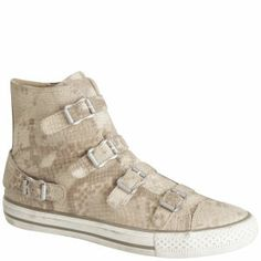 Ash Virginia Snakeskin Trainers - Coggles