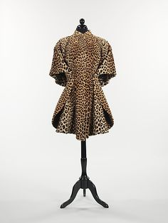 A Charles James coat which belonged to Millicent Rogers and displayed at the Met Museum