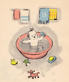 my vintage book collection (in blog form).: In the shop.... When You Were a Little Baby - illustrated by Mariana